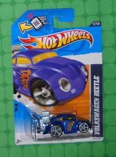 2012 Hot Wheels Heat Fleet 151 Volkswagen Beetle