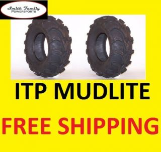 ITP Mud Lite at ATV New 25 Tires 25x8x12 25 8 12