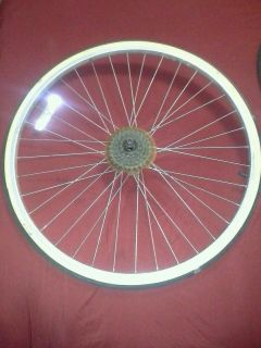 Schwinn World Tour Bicycle Bike Rear Rim Tire Clean Fast SHIP