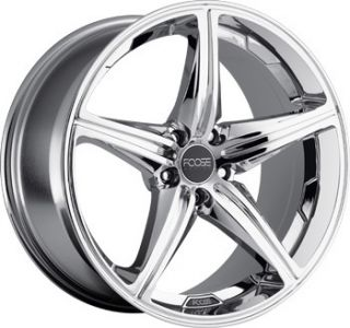 Speed Staggered Wheel Set 18x9 5 18x8 0 Chrome rwd 5 Lug Rims