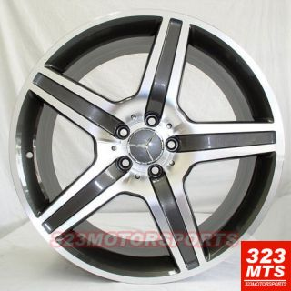 19 Wheels MBZ Rims Mercedes Benz C E s CLK