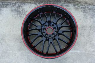 18x8 HPO GOODROADS RUFF RACING R951 WHEEL RIM GOOD CONDITION STRAIGHT