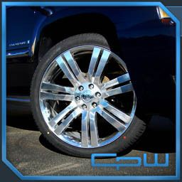 Cadillac Escalade High Polish Wheels GMC Chevrolet Rims New