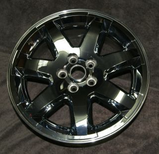 18 Jeep Liberty Factory Chrome Clad Alloy Wheel Rim