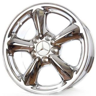 New 16 Mercedes Benz SLK230 SLK280 Chrome Wheels Rims 65218 EXCHANGE