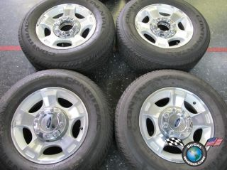 Ford F250 F350SD Factory 18 Wheels Tires OEM Rims Conti 275 65 18 3790