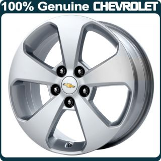 Genuine Chevrolet Cruze 17 Alloy Wheel 5 Spoke Design Diesel Silver