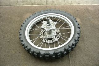 2003 03 Honda CRF450 CRF 450 CRF450R 450R Rear Wheel Rim Tire Rotor