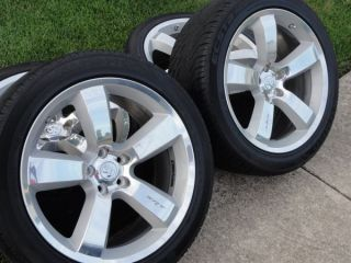 SRT 20 inch OEM rims and tires 2006 2009 Dodge Charger, Magnum or