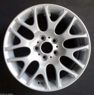 07 08 10 BMW 3 Series Snowflake 18 Front Factory OEM Wheel Rim H 59615
