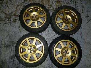 JDM Rims Wheels Tires Subaru Impreza Legacy Speedline