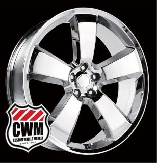 Dodge Charger SRT8 Style Chrome Wheels Rims for Chrysler 300 2013