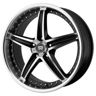RACING MR107 MR10788045342 18X8 42MM OFFSET 5X4 25 G BLACK MACH RIM