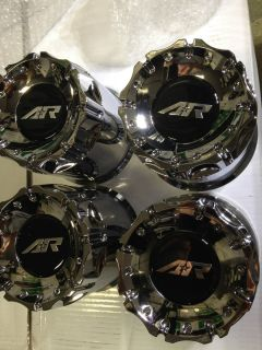 American Racing Wheel Chrome Center Caps Chevrolet Silverado GMC Ford