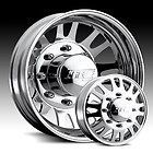 EAGLE 056 ALUMINUM WHEELS RIMS CHEVY 3500 DODGE 3500 DUALLY TRUCK