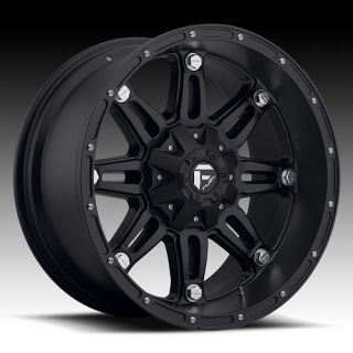 18 Fuel Hostage Black Rims 325 60 18 with Nitto Terra Grappler Tires