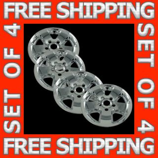 10 12 Dodge RAM 1500 17 Chrome Wheel Skin Hubcaps Covers Hub Cap Set