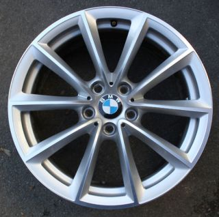 One BMW 19 Z4 V Spoke Alloy Wheel E89 296 8J Front Polished Arms