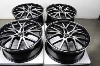 20 5x112 Rims Black Mercedes Benz ML320 ML350 GL550 R350 R500 E500