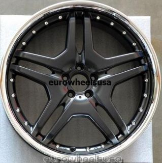Wheels For Mercedes R350 ML350 500 GL450 550 AMG Style Rims & Lugs Set