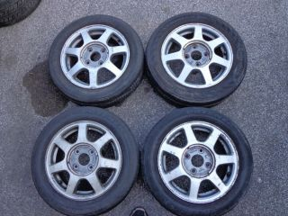 1995 Honda Accord EX Alloy Wheels Rims Tires Set