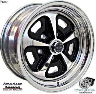 AMERICAN RACING MAGNUM VN500 WHEELS IN STOCK FOR CHEVY CHEVELLE 1967