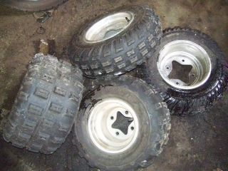 Honda TRX400EX 400EX EX Front Rear Back Wheels Rims Tires Set 4
