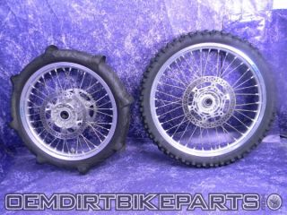 Excel Wheel Set Front Rear Rims 2000 2008 YZ450F YZ125 YZ250