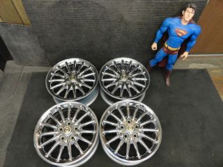 Chrysler Town & Country Dodge Caravan Wheels 99 00 Factory Stock Rims
