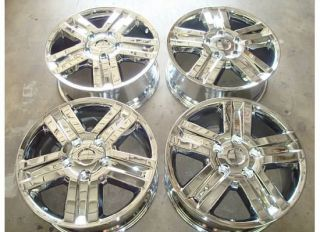 Tundra Sequoia Limited Chrome Wheels Rims 07 10 08 09 Factory