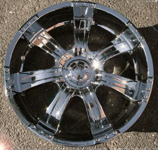 Poltergeist 501 20 Chrome Rims Wheels Ford Expedition F150 6H