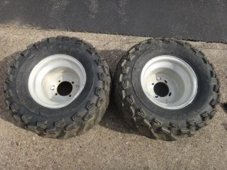 TRX400EX TRX 400EX 400 450R 300EX Rear Wheels Rims Tires H