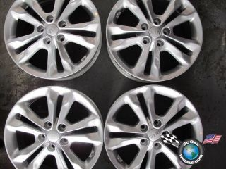 07 12 Kia Optima Factory 17 Wheels Rims Forte 52910 2T350 74638