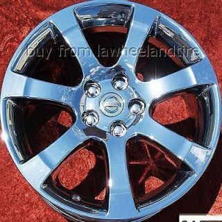 NEW 18 NISSAN MAXIMA OEM CHROME WHEELS RIMS ALTIMA MURANO 350Z 62475