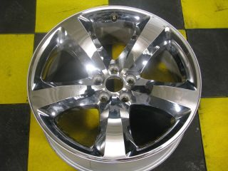 Factory Dodge Charger Challenger 20 Magnum Chrome Clad Wheel Rim