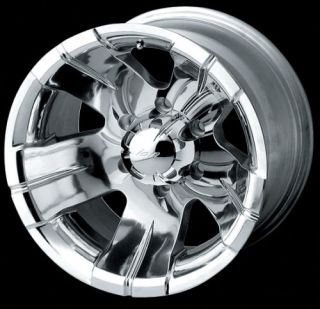 16 ion Wheels Rims Polished Dodge Dakota Durango RAM