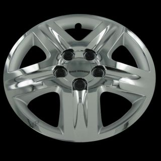 New 16 Chrome Hubcaps Center Hub Caps Wheel Rim Covers