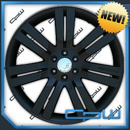 24 inch Cadillac Escalade Wheels Rims Matte Black Finish New