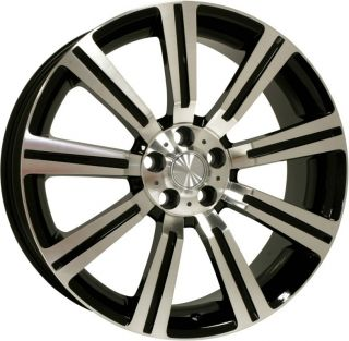 22 Stormer Machined Black Wheels Rims Land Rover LR3 Range Rover