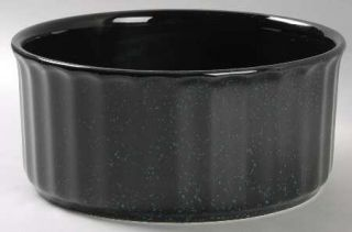 Mikasa Ultrastone Black Granite Souffle, Fine China Dinnerware   Black Backgroun