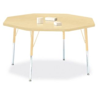 Jonti Craft Berries Octagon Activity Table (48 x 48) 6428JC251 Size 31 H