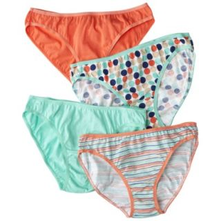 Fruit Of The Loom Womens 4 pk Fashion Cotton Bikini   Assorted Colors/Patterns 8