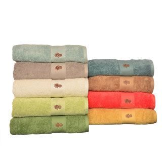 Tommy Bahama Embroidered pineapple Cotton 3 piece Towel Set