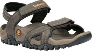 Mens Timberland Granite Trailway Sandal   Brown Synthetic Leather Sandals