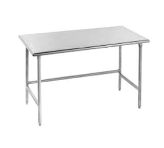Advance Tabco 48 Work Table   30 W, 16 ga 430 Stainless Top