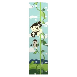 Jungle Room Magnetic Growth Chart   8x39