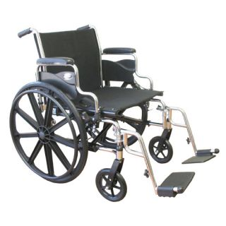 Karman Healthcare Extra Wide Heavy Duty Deluxe Bariatric Wheelchair KN 92 Sea