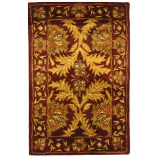 Safavieh Antiquities William Morris Wine/Gold Rug AT54A