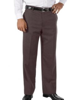 Paul Fredrick Mens Wool & Cashmere Flat Front Pants