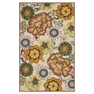 Safavieh Four Seasons Ivory / Brown Rug FRS467A Rug Size 26 x 4